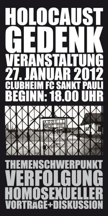 Holocaust Gedenkveranstaltung 27.01.2012